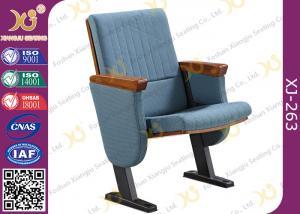 China A espuma moldada baixo suporta cadeiras de Seat do auditório com retorno da mola da almofada de escrita do MDF on sale
