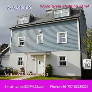 China Fiber cement weatherboard stone facade panels Birmingham 3050*192*7.5/9mm on sale