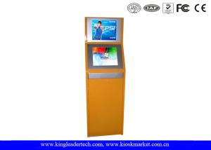 China Double Display Self-Service TouchScreen Kiosk , Vandal-Proof For Theater on sale