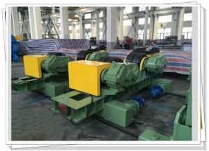 China CSA Wind Tower Production Line Dual Driven Shot Blasting 80T Turning Roll on sale