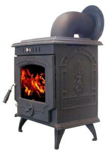 Antique Wood Burning Cast Iron Garden Chimney Fireplace For Bbq