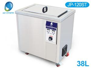 China Stainless steel Large Volume industrial ultrasonic parts cleaner 1500W Heating power on sale