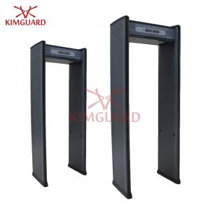 China Weapon Scanner Security Metal Detector Gate , Magnetometer Security Equipment on sale