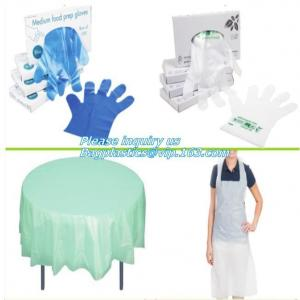 China medical compostable disposable plastic gloves, biodegradable and compostable gloves vinyl, Disposable Polyethylene PE Gl on sale