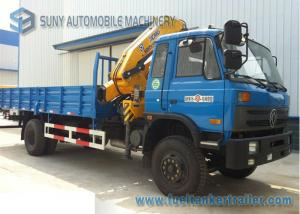 China Dongfeng - DFAC 4x2 Truck Mounted Crane 170 HP Cummins Engine on sale