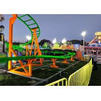 12 Seats 380V Kiddie Roller Coaster With Ethnic Characteristics Decoration