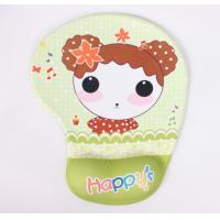 China Cartoon Hand Support Mouse Pad , Gel Wrist Pads For Typing on sale