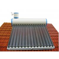 household imported color plate tank solar water heater