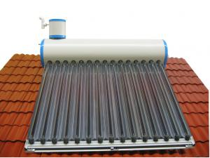 China household imported color plate tank solar water heater on sale