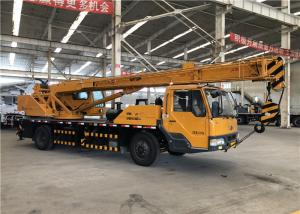 China Main Boom Elevation Hydraulic Truck Bed Crane Max Lifting Height 28m on sale