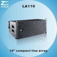 "LA110, 10"" Compact Powerful Line Array Speaker"
