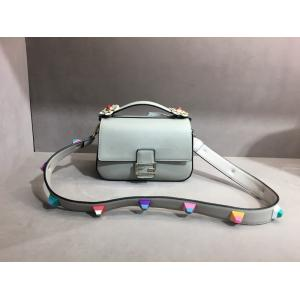 China Designer handbags studdeds female bag fashion women leather handbags,lady leather hand bag EMG4882 on sale