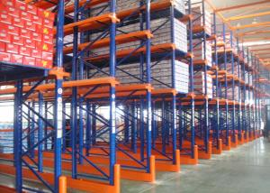 China Durable Conventional Selective Drive In Racking System With Corrosion Protection on sale
