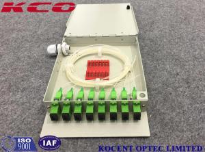 China Wall Mount FTB OTB 8 Ports Fiber Optic Terminal Box FTTH GPON EPON KCO-FTB08D on sale