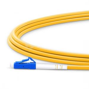China LC To LC Simplex Fiber Optic Patch Cord LSZH Jacket For Telecommunication Networks on sale