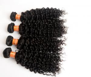 China top quality Malaysian Unprocessed 7A 100g Kinky Curly Hair Extensions on sale