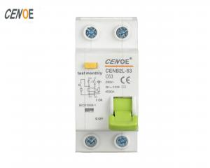 China 1P+N RCBO ELCB Earth Residual Current Circuit Breaker with Overload Protection on sale