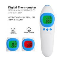 Health Care Products Forehead Fever Thermometer , Digital Temperature Thermometer