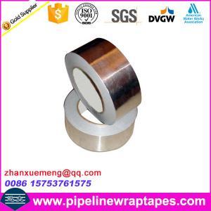 China Wateproof Membranes Aluminum Asphalt Wrap Tape For Overhead Pipe on sale