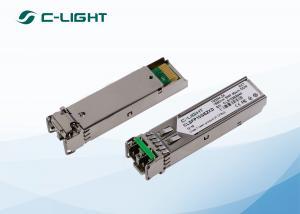 China Cisco SFP Optical Transceiver SMF 1550nm DDM for Gigabit Ethernet on sale