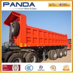 China High quality 3 axle 50T tipper semi trailer with HYVA cyclinder, tipper trailer for sale on sale