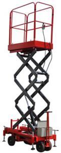 China Mini Mobile Scissor Lift Elevated Work Platform Hydraulic Lift Platform 3m 450kg on sale