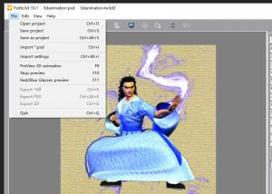 China OK3D 3d software for 2d to 3d conversion /3d software for customized lenticular print/better than 3d MASTERKIT software on sale