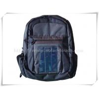 China Solar Laptop Backpack(1W flexible solar panel)-STC001 on sale