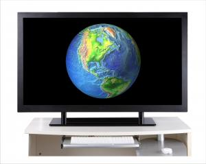 China Super FHD Monitor, resolution of 3840*2160,4-Full HD Display on sale