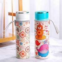 China Silk Printing Insulated Neoprene Water Bottle Sleeve on sale