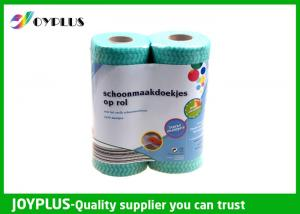 China Oil Absorbent Household Cleaning Wipes Roll 2 Pack OEM / ODM Available on sale
