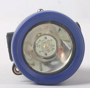 China Cordless Miners Cap Lamp Compact Size With Rechargeable Lithium Manganese Battery on sale