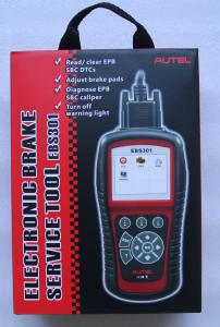 Quality Autel EBS301 Electronic Brake Service Tool (EPB / SBC) Fault / Reset Scanner for sale