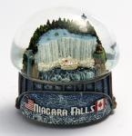 Globes musicaux en céramique de l'eau/neige pour le décor à la maison, festival, cadeau