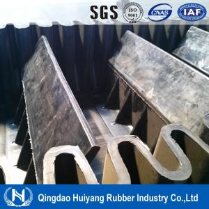 China Large capacity sidewall cleated conveyor belting on sale