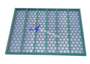 China Fluid System Industry Vibrating Sieving Mesh , Metal Shale Shaker Screen on sale