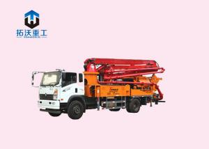 China X X Type Outrigger Concrete Pump Truck Concrete Machine Automatic Hydraulic System on sale