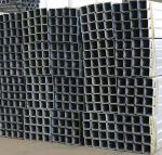 Galvanized Square Highway Guardrail Systems Parts Guardrail Posts 6.0mm Thickness