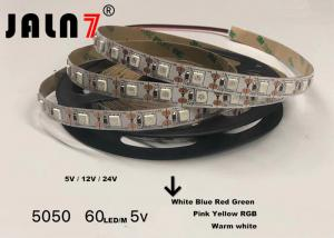 China SMD 5050 Waterproof Color Changing Led Strip Lights Customized Length on sale