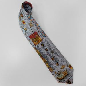 China Customized 100% Silk Digital Printed Necktie on sale