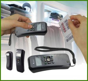 China Built in memory barcode scanner, store barcode scanner for sales and inventory system on sale