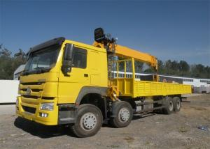 China 371HP Truck Mounted Crane For Construction HW76 Cabin 20T Max Lifting Moment on sale