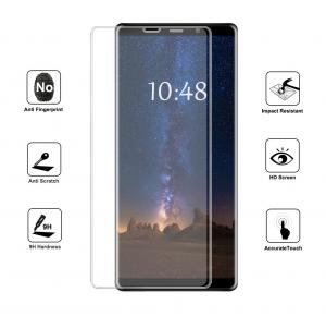 China Easy Installation Smartphone Glass Screen Protector Anti Oil For Samsung Note 8 on sale