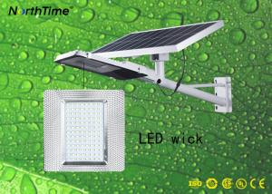 China Die-casting Aluminum Material IP65 Split Solar Wall Light 25W 12Hours Lighting Time on sale