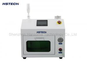 China Transprent Cover Water Level Induction Parallel SMT Nozzle Cleaning Machine on sale