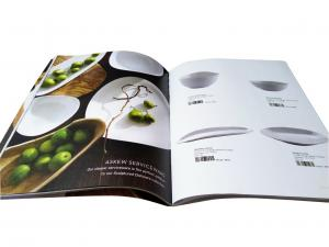 China Catalog Printing Services For Kitchenware Adornment 8.5 x 11 Size on sale