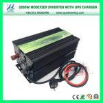 Inverseur solaire élevé du rendement 2000W avec le chargeur d'UPS (QW-M2000UPS)