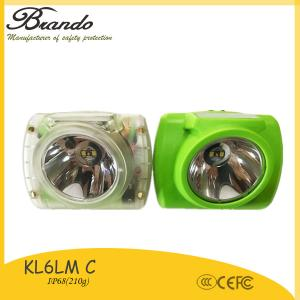 China intrinsically safe led cap lamp underground mining with IP68 waterproof KL6-C on sale