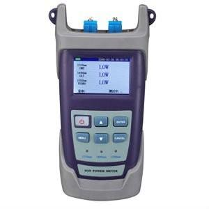 China Optical Power Meter 800nm to1700nm -50dB to +26dB Fiber Optic Network Cable Directional Power Meter on sale