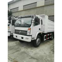 120 Hp 4*2 Tipper Dump Truck Color Customized With Famous Engine / Gearbox